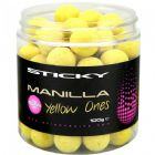 Sticky Baits Manilla Yellow Ones Pop-ups 12mm and 16mm